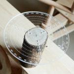 Оригинал Центр поиска 200 мм / 300 мм Инструмент Деревообрабатывающий компас для тиснения по дереву Чаши Токарный станок Точение по дереву Прозрачный