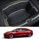 Оригинал Багажник Коробка ABS Хранилище Коробка Хранилище Коробка Модифицировано Авто Для Tesla Model 3