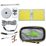 Оригинал  320W Portable COB LED Outdoor Camping Light  Remote Control DC12V Repairing Magnet for Travelling Road Trip