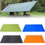 Оригинал 210×150см Кемпинг Коврик для пикника Anit-UV Палатка Tarp Rain Зонт от солнца Гамак Укрытие