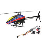 Оригинал Совместите T-Rex 300X DOMINATOR DFC 6CH 3D Flying RC Вертолет Super Combo с RCE-BL25A ESC 3700KV Мотор Цифровые сервоприводы