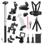 Оригинал 19 в 1 аксессуар рамы расширения Набор Многофункциональный расширенный фиксированный каркас для DJI Osmo карманный портативный комплект камер