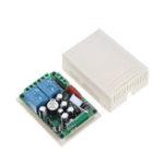 Оригинал 315 МГц AC 220 В 2-канальный RF Wireless Дистанционное Управление Переключатель системного модуля для умного дома