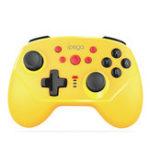 Оригинал iPega PG-9162Y Мини-Bluetooth Шестиосная Вибрация Геймпад для Nintendo Switch Консоль Беспроводной проводной Dual Connections Игровой контроллер