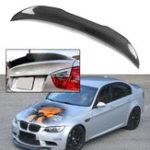 Оригинал Крышка спойлера багажника автомобиля из углеродного волокна для BMW E90 3 серии M3 4 дверный седан 2006-2011