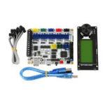 Оригинал Плата управления F5 V1.2 ATMEGA 2560 Материнская плата с MINI12864 mini 12864 LCD Дисплей Набор Поддерживает Marlin для 3D принтера DIY