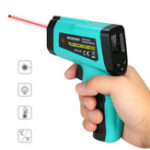 Оригинал -58 ℉ ~ 1022 ℉ -50 ℃ ~ 550 ℃ Бесконтактный цифровой инфракрасный Термометр LCD Дисплей Датчик температуры IR Лазер Точка Gu n Meter