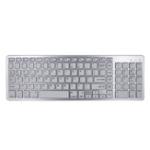 Оригинал BK348 102 ключа Ультратонкий беспроводной Bluetooth Клавиатура для Win / IOS / Android / Mac системы