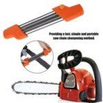 Оригинал Orange 2 IN 1 13/64 5.2 мм Цепная пила для быстрой заточки цепей Пила для заточки Набор Для Stihl 3 / 8P .404 дюймов