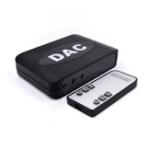 Оригинал Цифро-аналоговый аудио конвертер Аудио сигналы к усилителям мощности AV Аудиоадаптер