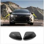 Оригинал Углеродное волокно Стиль бокового зеркала заднего вида автомобиля для Toyota Corolla Hatchback 2019