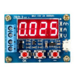 Оригинал Тестер емкости ZB2L3 18650 Батарея Внешний разрядник нагрузки Тип Тестер 1,2-12В с двумя резисторами 7,5