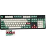 Оригинал Термо-сублимация кемпинга 5 поверхностей Cherry Profile PBT Keycap для Механический Клавиатура