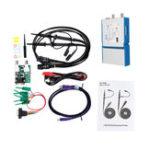 Оригинал OSCA02 35 МГц 2 CH Осциллограф 100 М / с Частота дискретизации Ручной портативный USB ПК Виртуальный цифровой Осциллограф