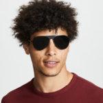 Оригинал Men Wild HD Солнцезащитные очки с металлическим матовым покрытием против ультрафиолета