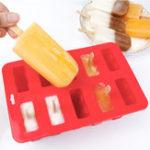 Оригинал 10 Морозильник Ice P-op Lolly Maker Крем для лотка с фруктовым мороженым