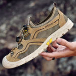 Оригинал Breathable Mesh Wear Resistant Outdoor Hiking Sneakers