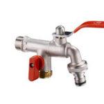 """Оригинал TMOK DN20 3/4 """" Латунь 1 в 2 из Смеситель для стиральной машины с наружной резьбой Двойной выпускной кран C Клапан управления потоком воды"""