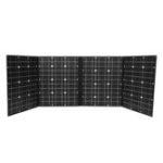 Оригинал NB4-150 18V 120W Monocrystallinel Солнечная Комплект для складывания панелей с кабелем 1,5 м MC4 + набор интерфейсов USB для работы На открытом воздухе