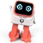 Оригинал DanceBot AI Интеллектуальное приложение Bluetooth Управление вращением на 360 ° Совместное вращение Sing Dance Smart RC Робот Игрушка