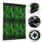 Оригинал Green Fire Hydrographic Water Transfer Film Hydro Dipping DIP Print Car Film 150CM