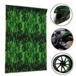 Оригинал Green Fire Hydrographic Water Transfer Film Hydro Dipping DIP Print Car Film 150CM