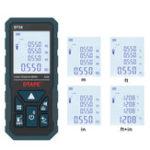 Оригинал DTAPE 2.0 дюймов Подсветка LCD Экран Цифровой Лазер Дальномер Измеритель расстояния Один непрерывный участок / Объем / Пифагорейские измерения 4