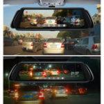 Оригинал 1080P 10 inch Night Vision G-Sensor Loop Recording 170 Degree Car DVR with Rear Camera