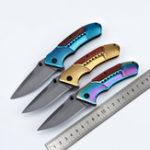 Оригинал LAOTIE F81 Складной нож из нержавеющей стали 210 мм На открытом воздухе Выживание Набор Набор Многофункциональный нож для пешего туризма