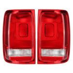 Оригинал Задний левый / правый задний фонарь в сборе с тормозом Лампа без лампочек для Volkswagen Amarok UTE Pickup 2010-UP
