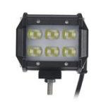 Оригинал 2Pcs 5D LED 18W Work Light Spot Beam Лодка Грузовик Offroad 4WD Внедорожник Белый Лампа IP67