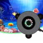 Оригинал 12 LED Погружной Аквариум Bubble Light Air Stone Аквариум Насос Лампа Дистанционное Управление