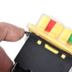 Оригинал KEDU KJD17 120V 16 / 12A 5-контактный электромагнитный кнопочный переключатель для управления Мотор