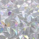 Оригинал 45 * 200см Безклеевая электростатическая 3D стеклянная пленка с нерегулярным преломлением зерна Colorful Стеклянная оконная пленка