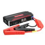 Оригинал 11000mAh Авто Jump Starter 4USB Многофункциональный Powerbank Батарея Booster Pack для 12V 4.0L Бензин 2.5L Дизель Двигатель