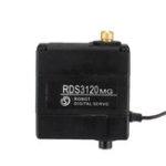 Оригинал DSSERVO RDS3120MG 270 ° 22 кг Металлический редуктор с двойным шарикоподшипником Digital Сервопривод Для манипулятора