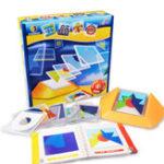 Оригинал Xiaoguaidan ZM0096 100 уровней Baby Colorful Пластина Пространственное мышление Головоломка Игрушка для детей Логическое мышление Color Match Настольная игра