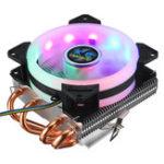 Оригинал Процессорный кулер 4 Heatpipes 90мм 4Pin LED RGB Вентилятор охлаждения для LGA 775/1155/1151/1150/1366 AMD