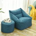 Оригинал              Большая Боб Сумка Чехлы на стулья Ленивый Диван Кресло Крытый Моющийся Уютный Игровой Шезлонг