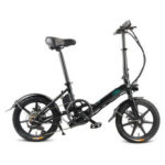 Оригинал              [EU Direct] FIIDO D3S Сдвиг Версия 7.8Ah 36 В 300 Вт 16 дюймов Складной велосипед мопеда 25 км / ч Макс 60 км Пробег Электрический велосипед