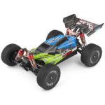Оригинал              Wltoys 144001 1/14 2.4G 4WD High Speed Racing RC Авто Модели автомобилей 60 км / ч