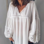 Оригинал              Кружевная вязаная блузка