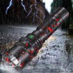Оригинал              XANES3320P50XHP501800люмен USB перезаряжаемый СВЕТОДИОД фонарик с 26650 Батарея