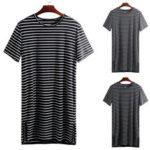 Оригинал              Мужские пижамы Kaftan Пижамы Летние футболки Lounge с коротким рукавом Night Платье