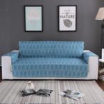 Оригинал              Печатный шлифовальный материал Wuilted кусок Нескользящий диван для домашних животных Водонепроницаемы Чехлы на стулья с защитой от царапин