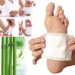 Оригинал              Очищающие подушечки для ног Detox Похудение Накладки для ног Здоровье Наклейки для ухода