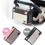 Оригинал              Коляска для хранения Сумка детская коляска с подгузником, меняющая плечо, сумка для мамы