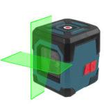 Оригинал              HANMATEK LV1G Лазер Уровень Зеленый Крест Лазер с диапазоном измерения 50 футов, самовыравнивающейся вертикальной и горизонтальной линией