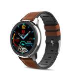 Оригинал              LEMFO ELF2 Full Round Touch HD Браслет-экран PPG + ЭКГ Сердце Оценить Монитор BT5.0 Смарт-часы
