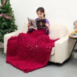 Оригинал              100x150cm Вязаное одеяло ручной работы, хлопок Soft Моющиеся безворсовые пледы